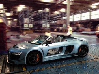 Немецкие тюнеры оснастили Audi R8 «дырявыми» дверьми