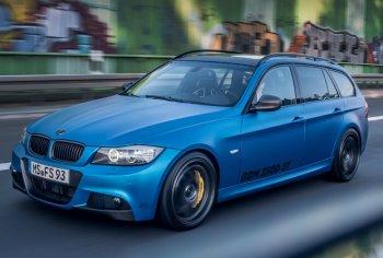 Тюнеры оснастили более мощным мотором автомобиль BMW 330d Touring