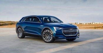 Компания Audi планирует выпустить три электромобиля к 2020 году