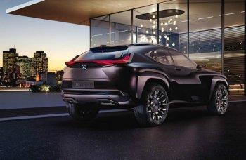 Lexus покажет в Париже новый кроссовер