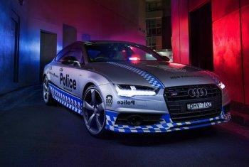 Заряженный хэтчбек Audi S7 Sportback был передан полиции Австралии