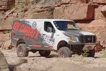Японские автомобилестроители показали внедорожный фургон Nissan NV Cargo X