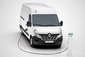 Фургон Renault Master получил электрическую версию