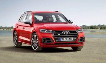 Названы цены для российского рынка на обновленный спортивный кроссовер Audi SQ5