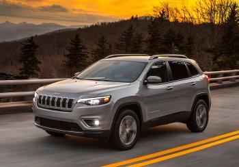 Прошло плановое обновление кроссовера Jeep Cherokee
