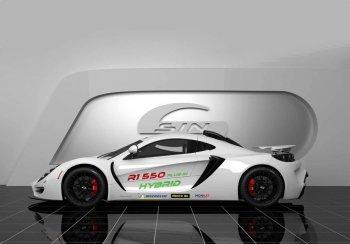Британская компания построила автомобиль с мотором от Corvette