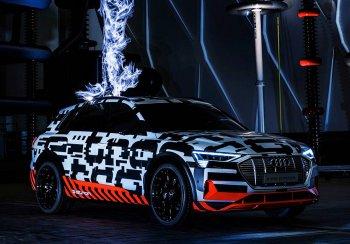Появились новые сведения о первом серийном элекрокроссовере Audi