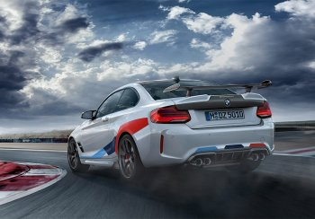 Представлена более спортивная версия автомобиля BMW M2 Competition