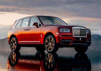 Названа стоимость одного из самых дорогих внедорожников современного автопрома – Rolls-Royce Cullinan