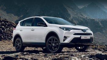 Компания Toyota показала особую версию модели RAV4, которая называется 25th Anniversary