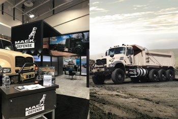 Компания Mack представила новые дизельные самосвалы специально для армии США