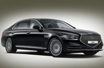 Новый вариант автомобиля Genesis G90 начали продавать на территории России