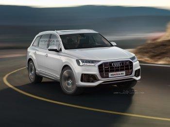 Производители назвали срок, к которому привезут обновленный Audi Q7 в Россию