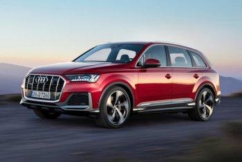 Audi Q7 приобретает электродвигатель