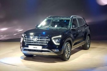 Представлено второе поколение Hyundai Creta для индийского рынка