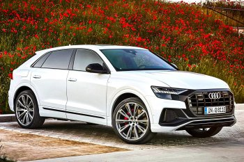 Автомобиль Audi Q8 получил гибридную версию