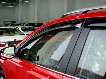 Автомобильный дефлектор: виды, функциональное назначение, рекомендации по выбору